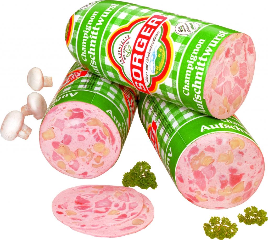 Champignonaufschnittwurst